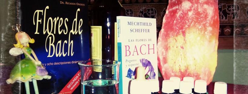 utensilios para hacer flores de Bach