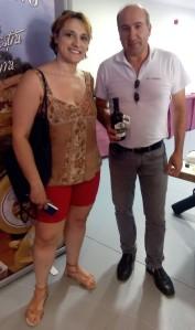 Con Gilberto Pintado